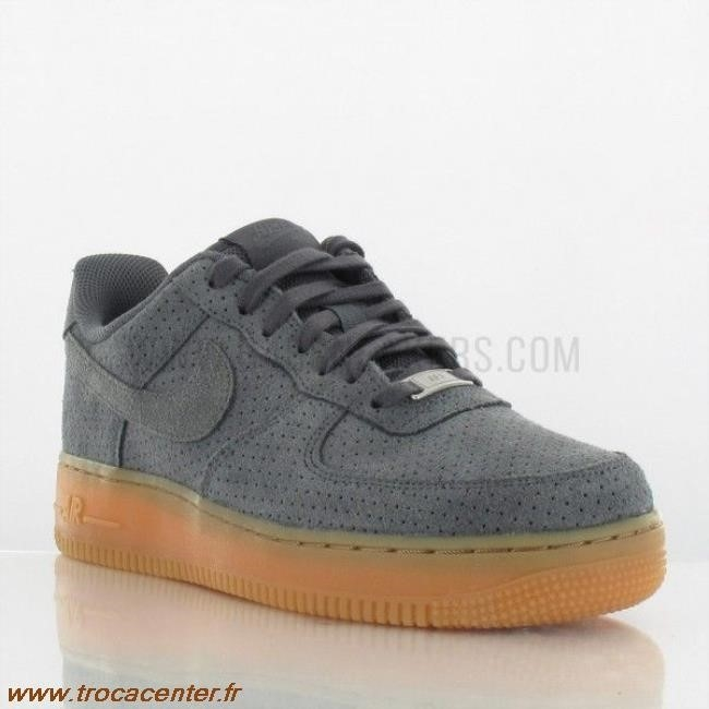 Force Femme One Air Suede Grise iXZOuTPk
